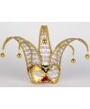 Goud Venetiaanse maskers met muzieknoten