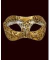 Venetiaanse maskers met muzieknoten